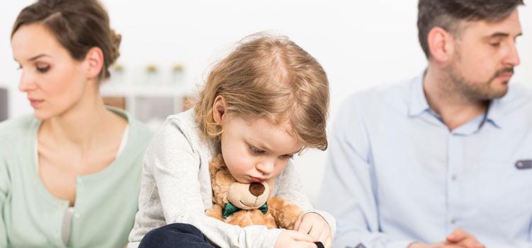 Niños y divorcio. Cómo manejar esta situación