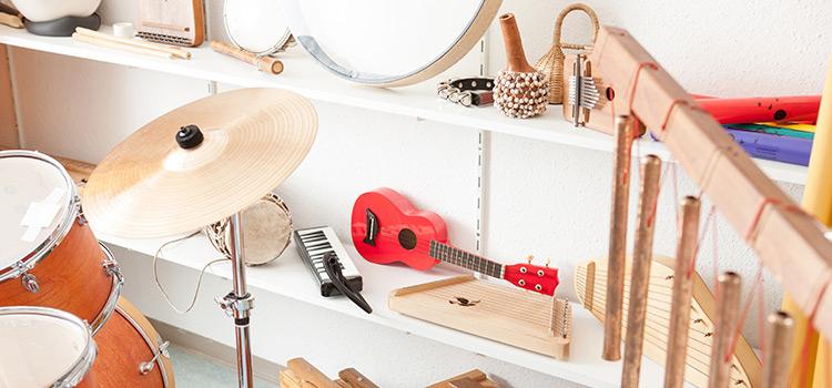 Instrumentos utilizados en musicoterapia