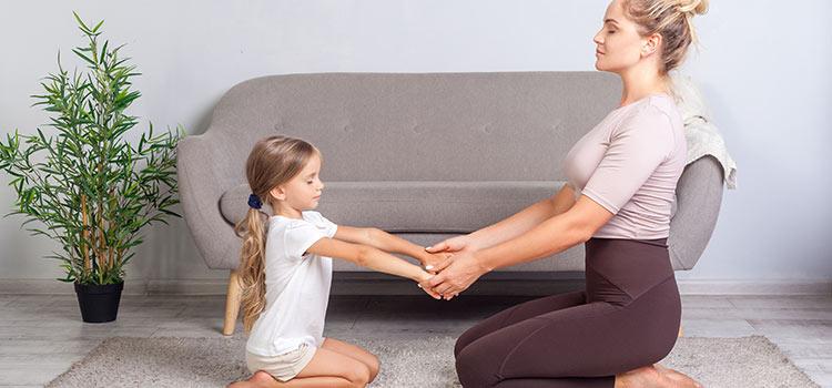 Meditar con niños